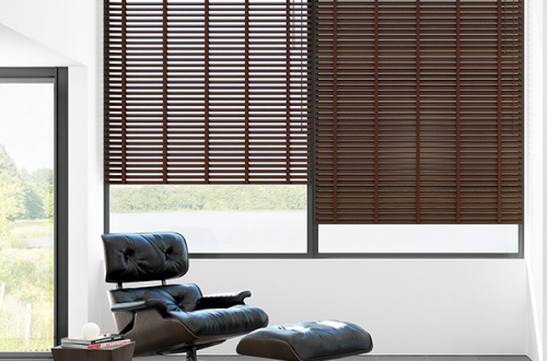 Wooden Venetian Blinds No 1